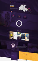 Personal portfolio web design by SycylianBeef