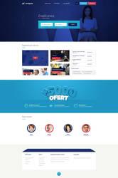 Workgress employment/work agency web design by SycylianBeef