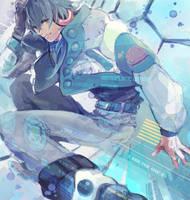DRAMAtical Murder-Aoba by Z-Verloren