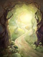 Forest by jolakotturinn