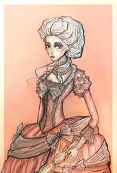 Marie Antoinette by Elisabethianna