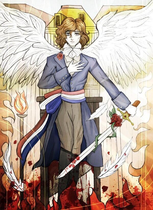 Archange De La Mort by Elisabethianna