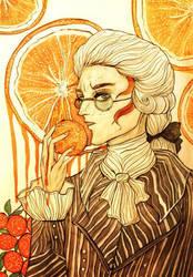 Oranges by Elisabethianna
