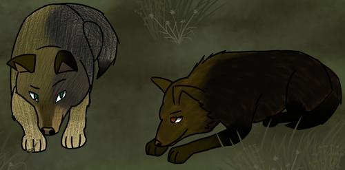 ''Morning, sunshine.'' [Wolf Quest] by SkyFallHD