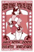 Lonestar Rollergirls poster by JasonGoad
