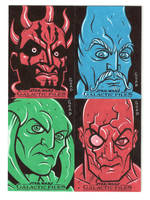 Star Wars sketch cards 7 by JasonGoad