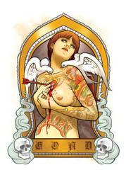 Fallen Angel by JasonGoad