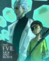 Evil  Rick and Morty by ninevsnine