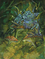Tres Elfos by juanvasquez