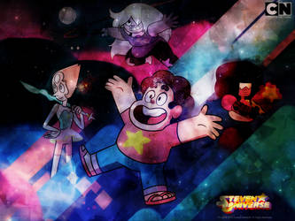 Steven Universe! (layer exercise) by Suichu-Kokyu