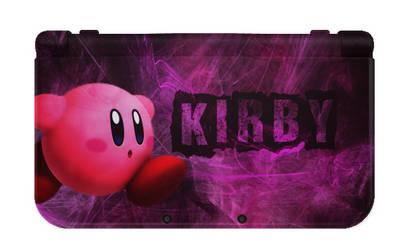 Kirby new 3ds xl by Suichu-Kokyu