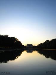 Lincoln's Memorial by LightningIsMyName