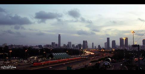 Stop and Look - Tel Aviv by LightningIsMyName