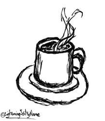 Ink Mug by LightningIsMyName