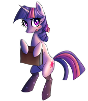 Twilight with Socks by NinjaHam