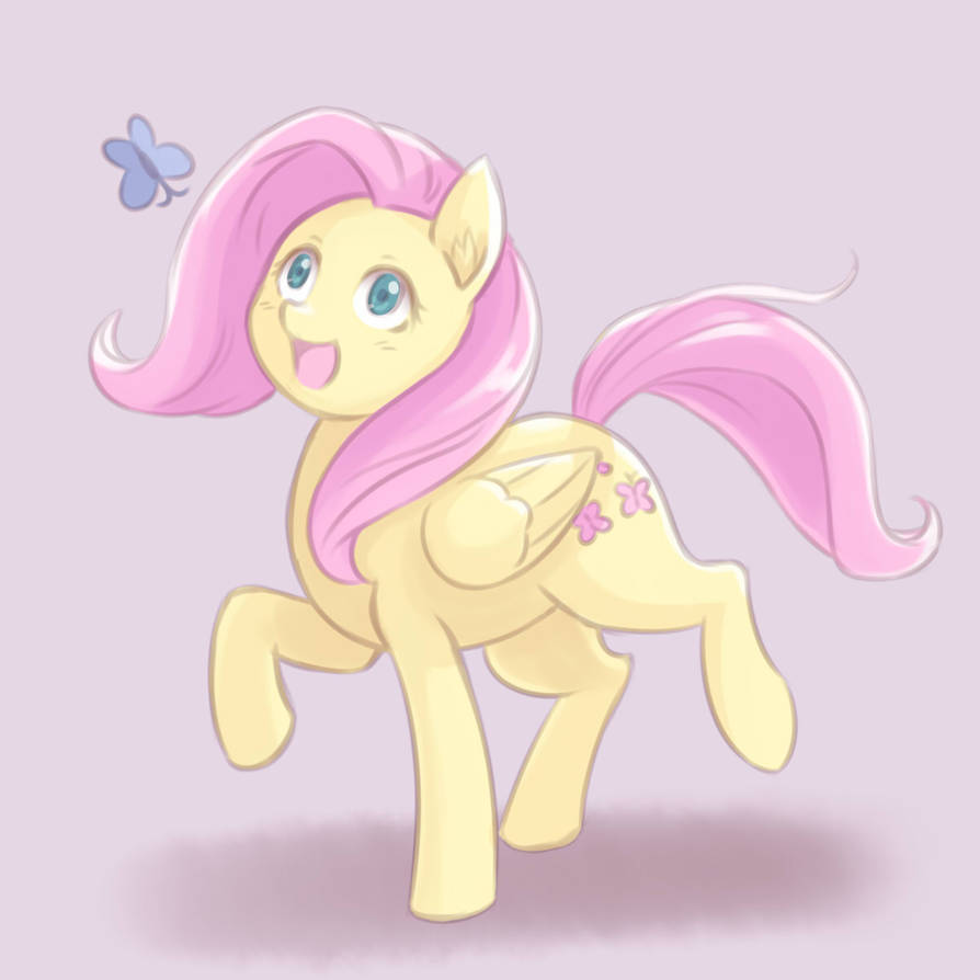 fluttershy_chasing_butterfly_by_ninjaham