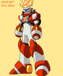Fire Man X DLN 007 by DariusXII