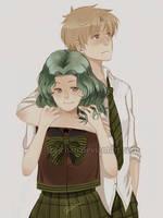 SM: Haruka x Michiru by iza-chan