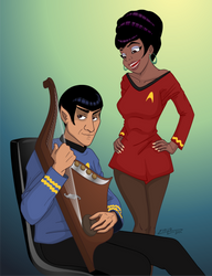 Oh, On the Starship Enterprise by 71olo