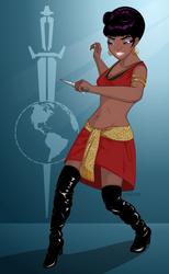 Mirror Uhura by 71olo