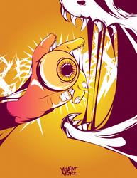 The Eye Eater by violentarthz