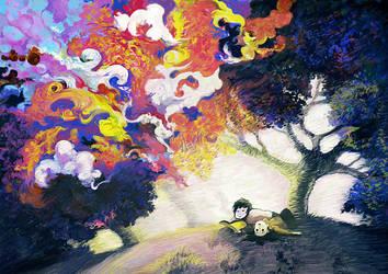 Dreams dementia by Nayth