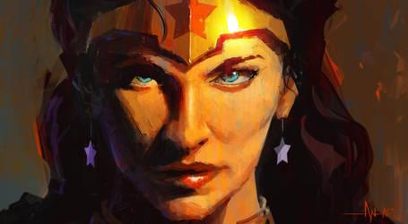 Wonder Woman by crazypalette