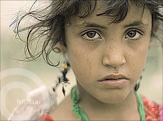 Ahwar Girl by Nilofaar