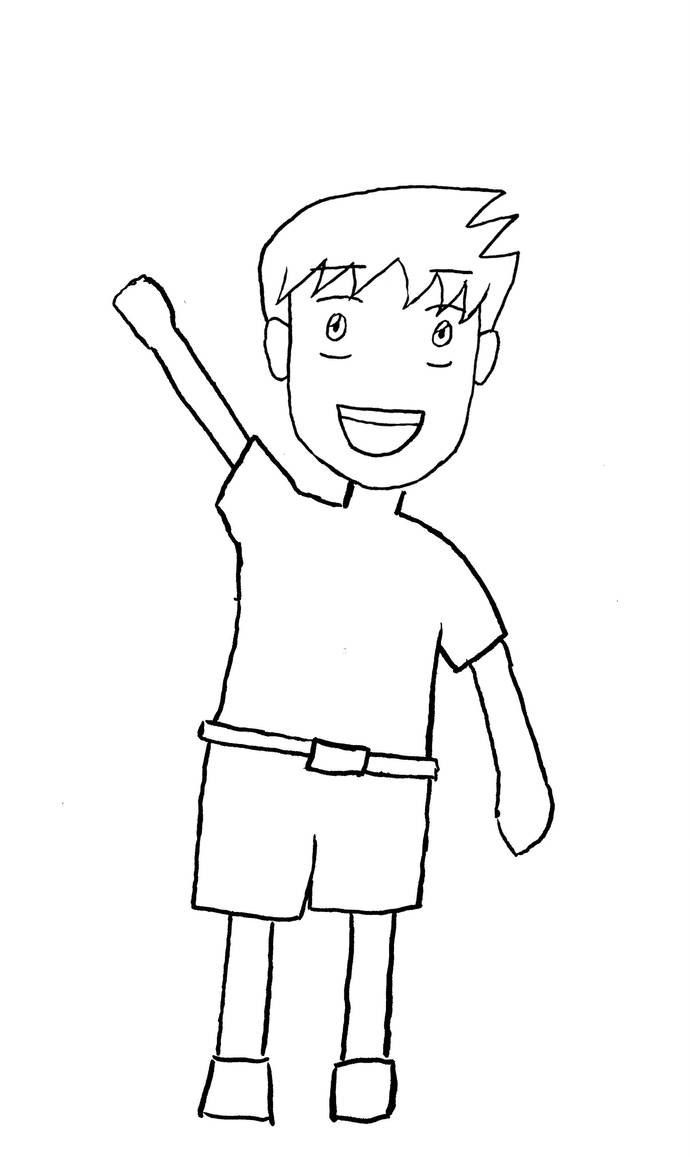 Frank Waving, animation frame by BrentNewhall