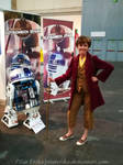 Bilbo meets R2-D2 by PilarErika