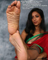 Girls Stuck on Indian Soles by youranus32