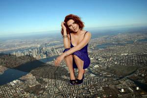 Scarlett Johansson Terrorizes NYC w/ Story by youranus32