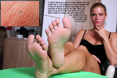 Stepmom's Feet Deal 2 by youranus32