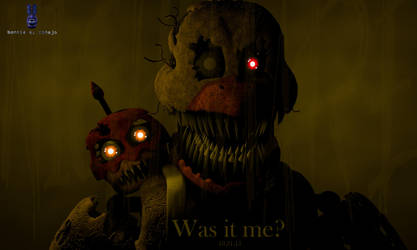 Was It Me Nightmare Chica Remake by bonieelconejo