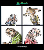 Zootopia - Slowest Days by Weischede