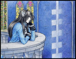Trade: Distant Thoughts by Horus-Goddess