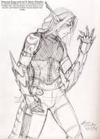 Origins - sketch by Horus-Goddess