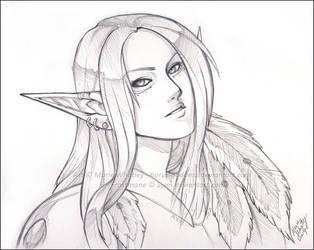 sketch comm - Finn by Horus-Goddess
