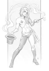 Commission - Magic Hat by Horus-Goddess