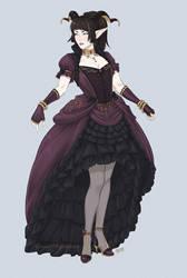 Zylphia Dress Concept 1 by Horus-Goddess