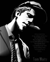 Tom Waits by miguel-deviant