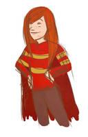 Sketchy Ginny by clarkey-lou