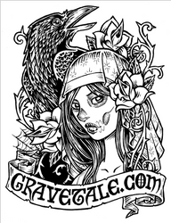 New gravetale.com sticker by dpdagger