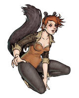 Real Squirrel Girl by dpdagger
