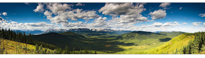The Athabasca Lookout by madddin