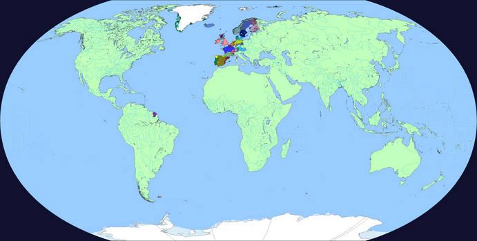 Iberia World Map.Linguistic World Map 1 Wip 8 Iberia By Neneveh On Deviantart