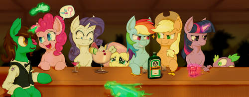 Six mares walk into a bar... by HavikM66
