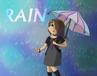 Rain fanart by Extermanet