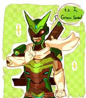 Sentai [Art Trade] by GUMIIXU