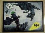 Batman and the Joker by Zeitzeugin